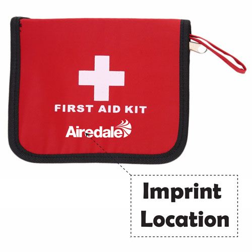 Sports Aid First Emergency Kit Imprint Image