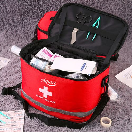 Sports Camping First Aid Kit Image 4
