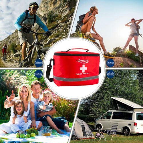 Sports Camping First Aid Kit Image 5