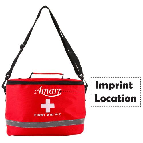 Sports Camping First Aid Kit Imprint Image