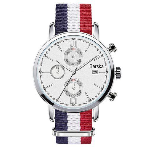 Chronograph Nylon Strap Watch