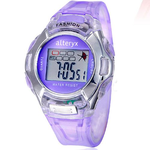 Kids Fashion Casual Sport Watches Image 2