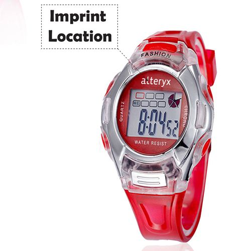 Kids Fashion Casual Sport Watches Imprint Image