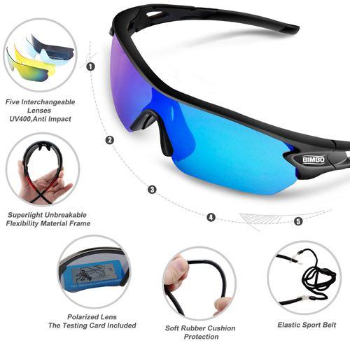 Sports Polarized Sunglasses Image 4
