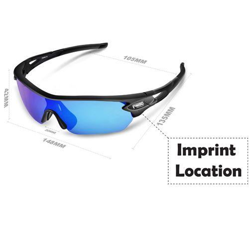 Sports Polarized Sunglasses Imprint Image