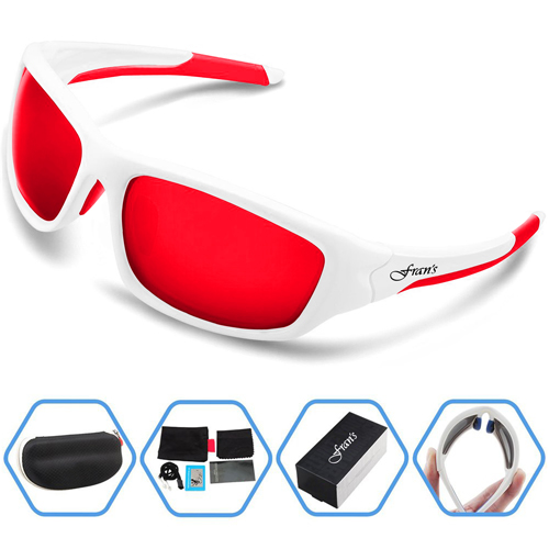 Mens Polarized Sports Sunglasses