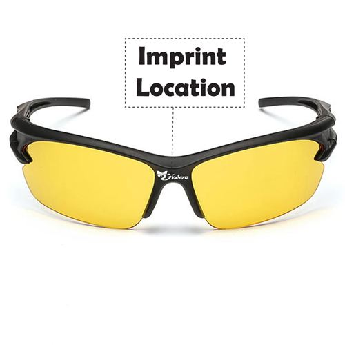 Unisex Sport Driving Sunglasses Imprint Image