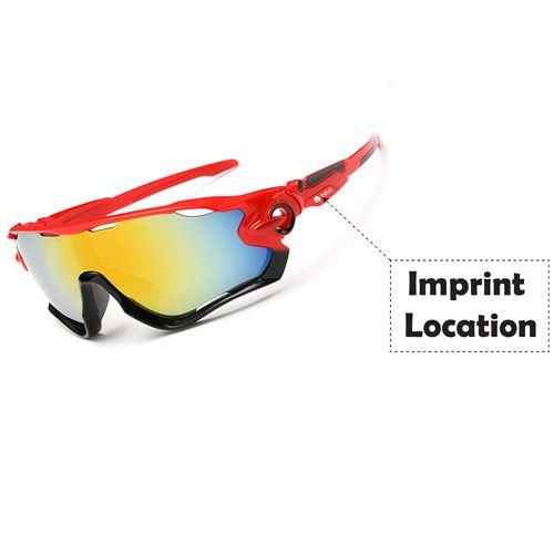 Mountain Men Women Sunglasses Imprint Image