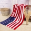 Summer Style Flag Dollar Bath Towel