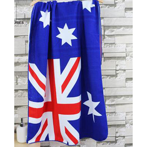 Summer Style Flag Dollar Bath Towel Image 2