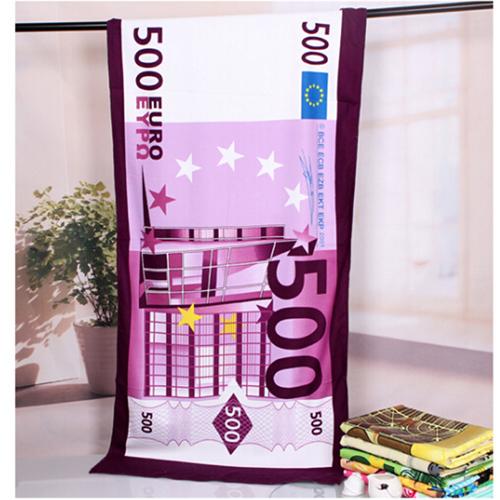 Summer Style Flag Dollar Bath Towel Image 3