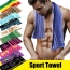 Cotton Soft Travel Gym Towel for Adult