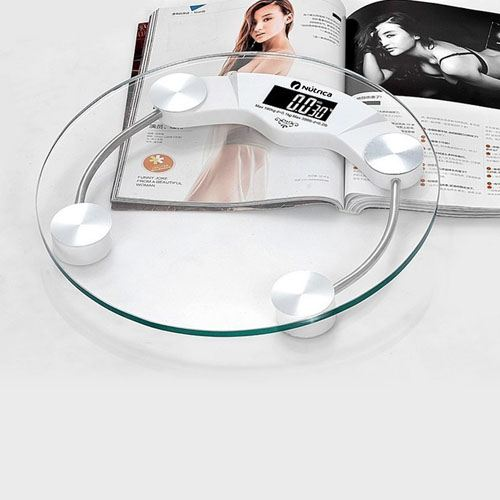 Toughened Glass Electronic Weight Health Scale Image 2