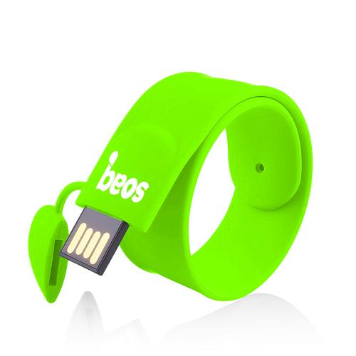 Silicone Wristband 1GB 2.0 Pen Drive