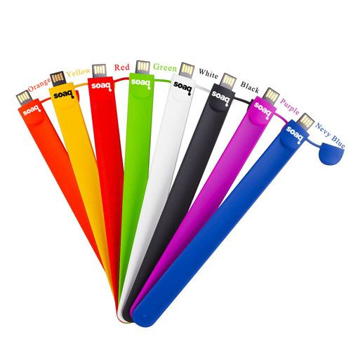 Silicone Wristband 1GB 2.0 Pen Drive Image 4