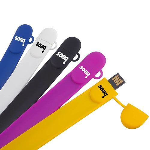 Silicone Wristband 1GB 2.0 Pen Drive Image 5