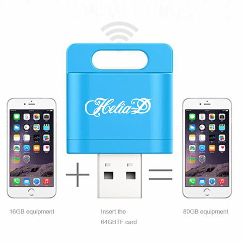 Wireless Card Reader 1GB USB Flash Drive