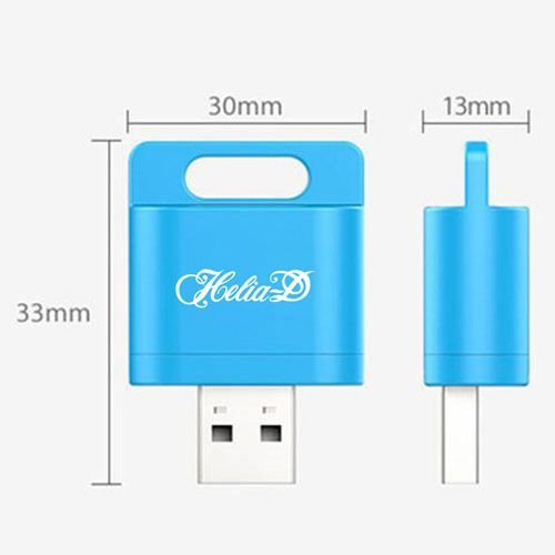 Wireless Card Reader 1GB USB Flash Drive Image 3
