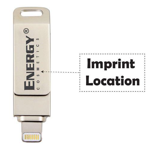 Metal 3 in 1 Flash Drive Imprint Image