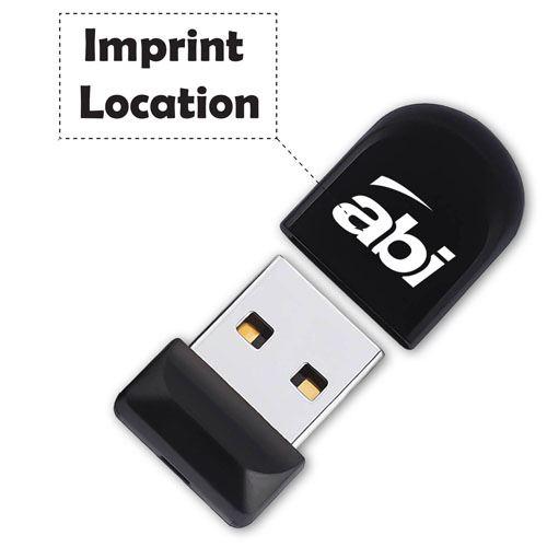 Mini Small USB Stick Pen Drive Imprint Image