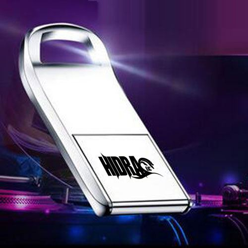 Flip Mini 2GB Metal USB Flash Drive Image 1