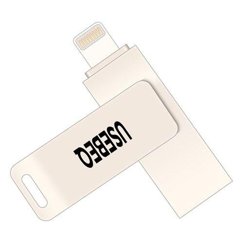 Rotating Lightning U Disk 4GB USB Flash Drive Image 1