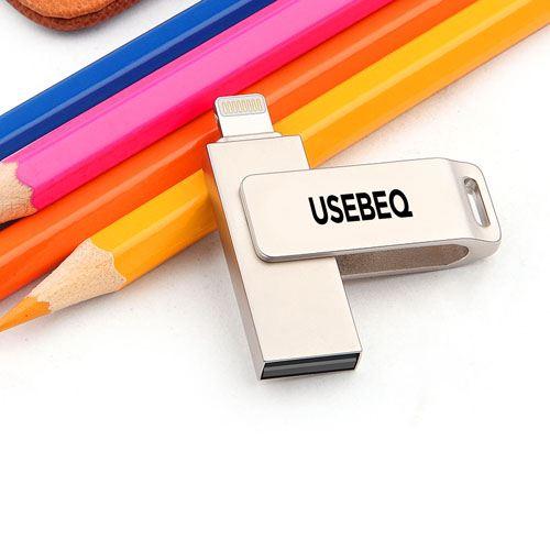 Rotating Lightning U Disk 4GB USB Flash Drive Image 5