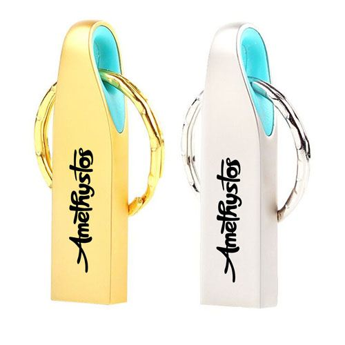Ring Real USB 3.0 4GB Keychain Flash Drive Image 1