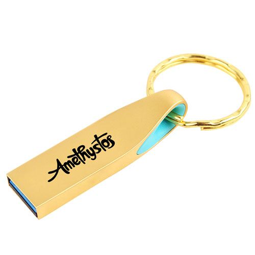 Ring Real USB 3.0 4GB Keychain Flash Drive Image 3