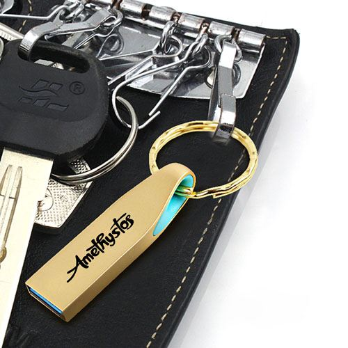 Ring Real USB 3.0 4GB Keychain Flash Drive Image 4