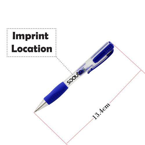 Multifunction Ballpoint 4GB Pen USB Flash Drive Imprint Image