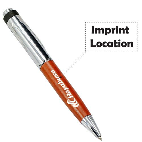2 In 1 4GB USB Metal Pen Drive Imprint Image