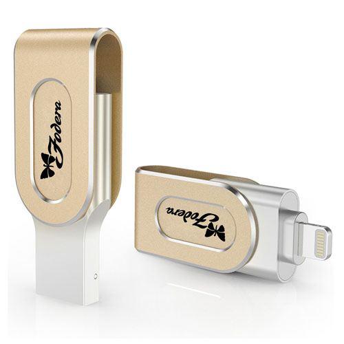 Two Interface USB 3.0 OTG 4GB Flash Drive Image 1