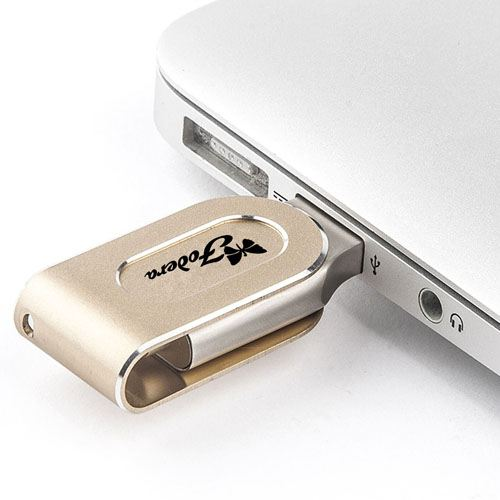 Two Interface USB 3.0 OTG 4GB Flash Drive Image 4