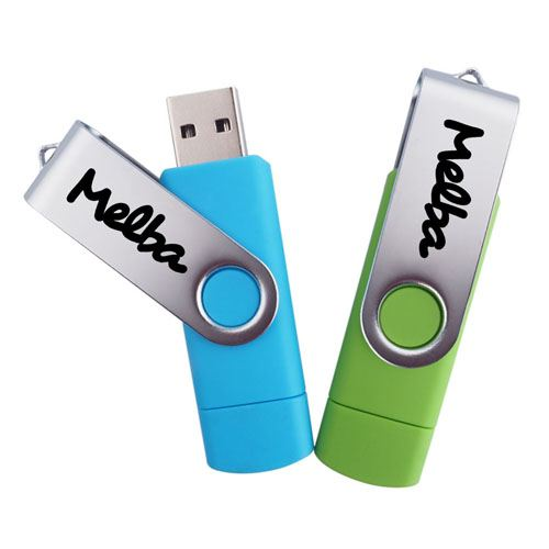 Two-Site Phone OTG USB Flash Drive Image 3