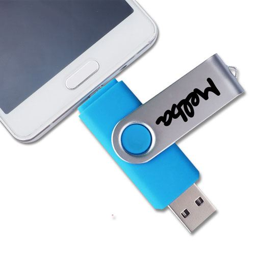 Two-Site Phone OTG USB Flash Drive Image 5