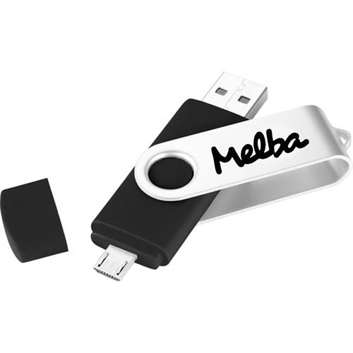 Two-Site 4GB OTG USB Flash Drive Image 1