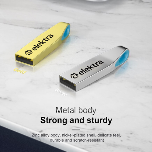 Ring Real USB 3.0 8GB Keychain Flash Drive Image 2