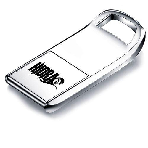 Flip Mini 8GB Metal USB Flash Drive Image 3