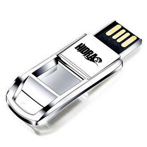 Flip Mini 8GB Metal USB Flash Drive Image 4