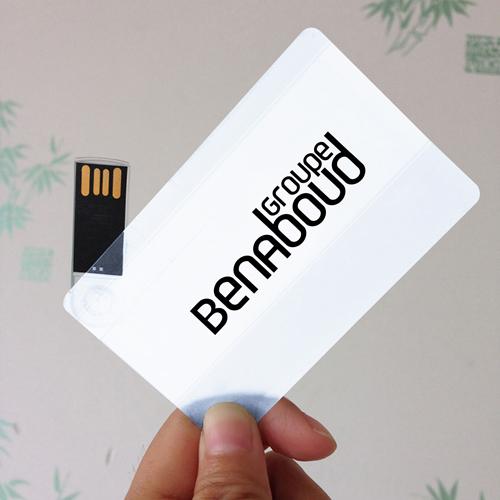 Transparent 8GB USB Card Flash Drive