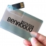 Transparent 8GB USB Card Flash Drive Image 3