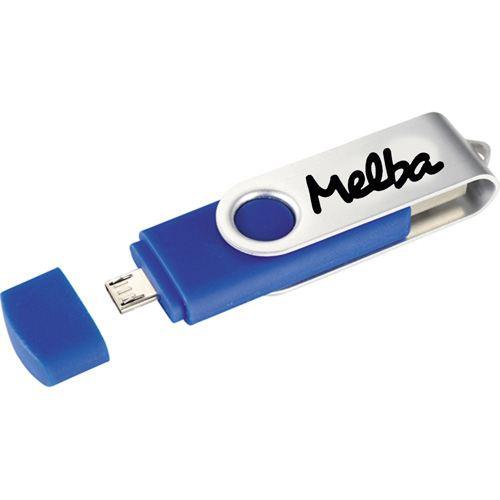 Two-Site OTG USB 8GB Flash Drive Image 2