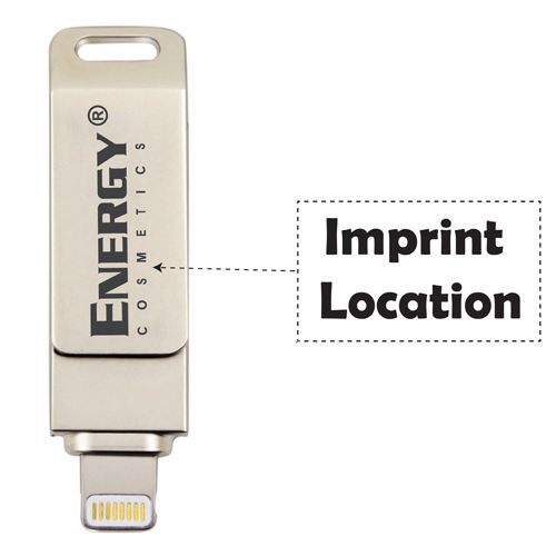 Metal 3 in 1 8GB Flash Drive Imprint Image