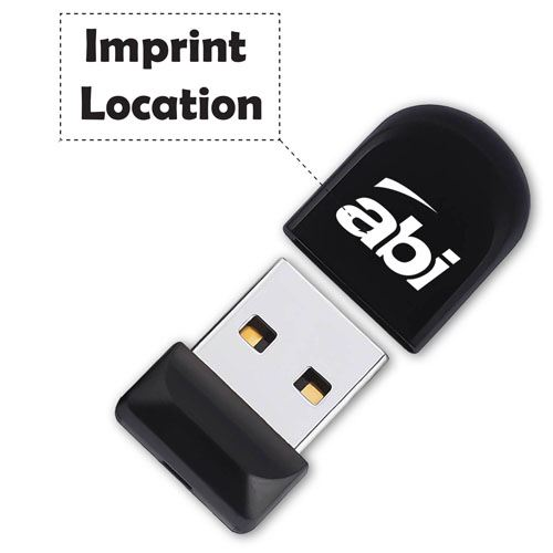 Mini Small USB Stick 8GB Pen Drive Imprint Image