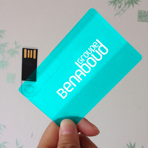 Transparent 16GB USB Card Flash Drive