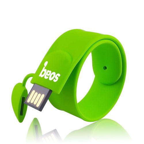 Silicone Wristband 16GB 2.0 Pen Drive