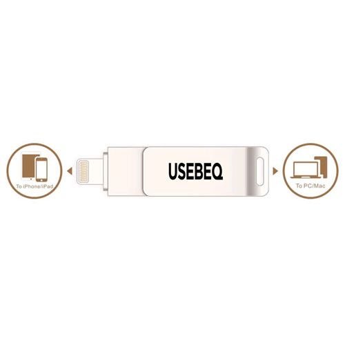 Rotating Lightning U Disk 32GB USB Flash Drive Image 3