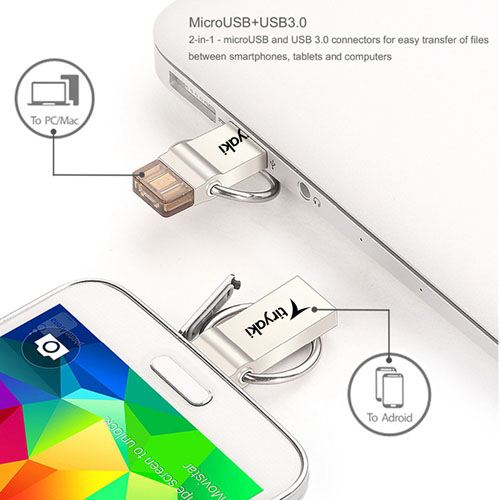 USB Encryption Smartphone 32GB Pen Drive Image 1