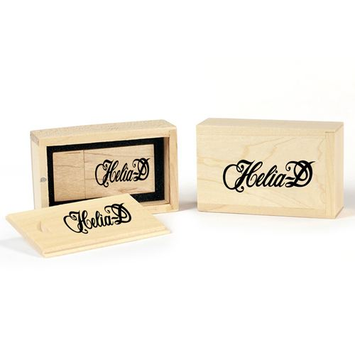Wooden Flash Drive Slide Box Image 5